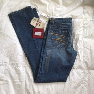 Seven7  Denim Jeans Skinny Stretch Jeans 28 33 NWT